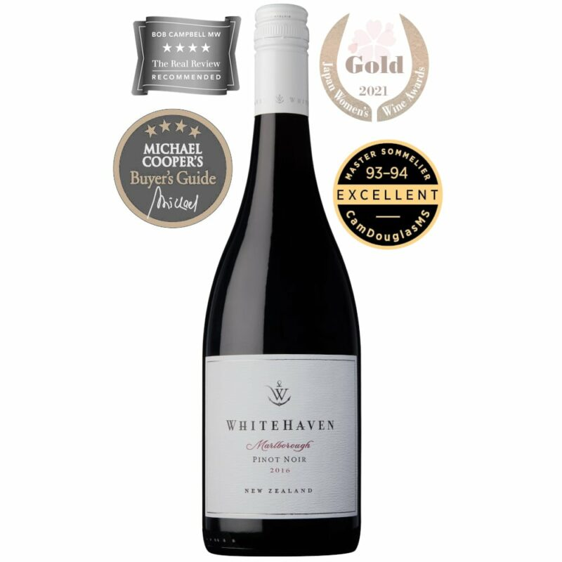 2016 Marlborough Pinot Noir Whitehaven Wines Marlborough New Zealand