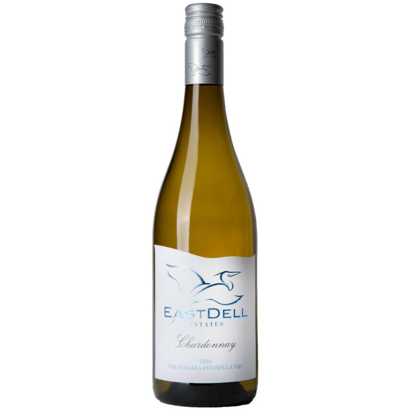 2015 EastDell Unoaked Chardonnay Niagara Kanada