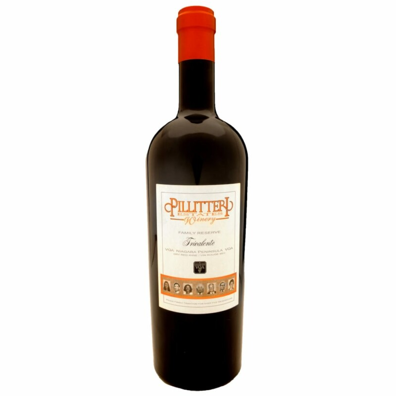 2012 Pillitteri Riserva Famiglia Trivalente, großartiger Bordeaux Blend aus Niagara