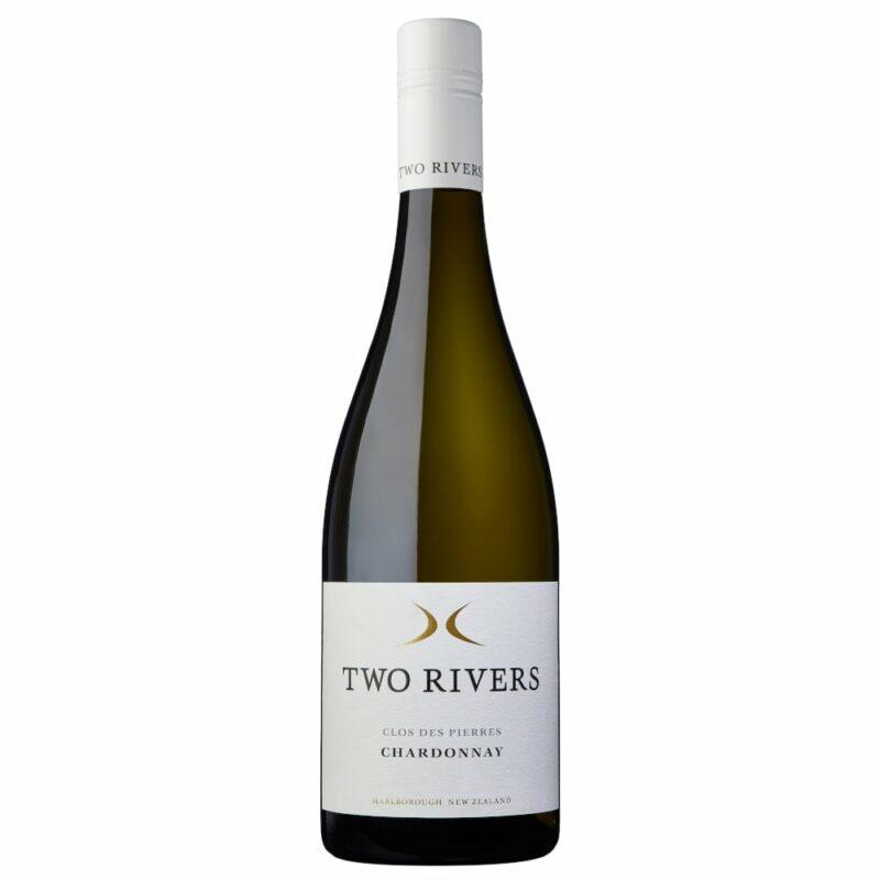 2019 Clos des Pierres Chardonnay Two Rivers Wines Marlborough New Zealand