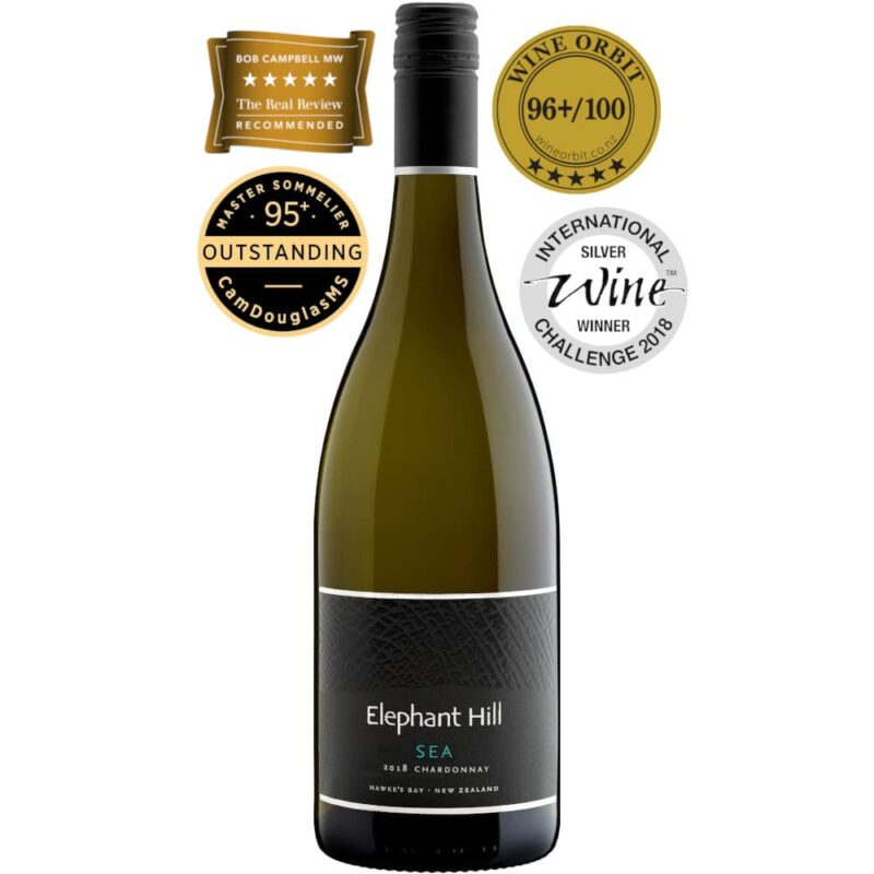 2018 Elephant Hill Sea Chardonnay Hawke's Bay New Zealand