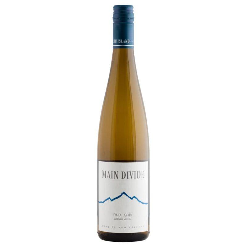 2019 Main Divide Pinot Gris Waipara Valley North Canterbury Neuseeland