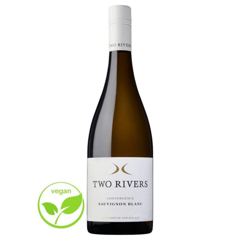 2020 Convergence Sauvignon Blanc Two Rivers Wines Marlborough New Zealand