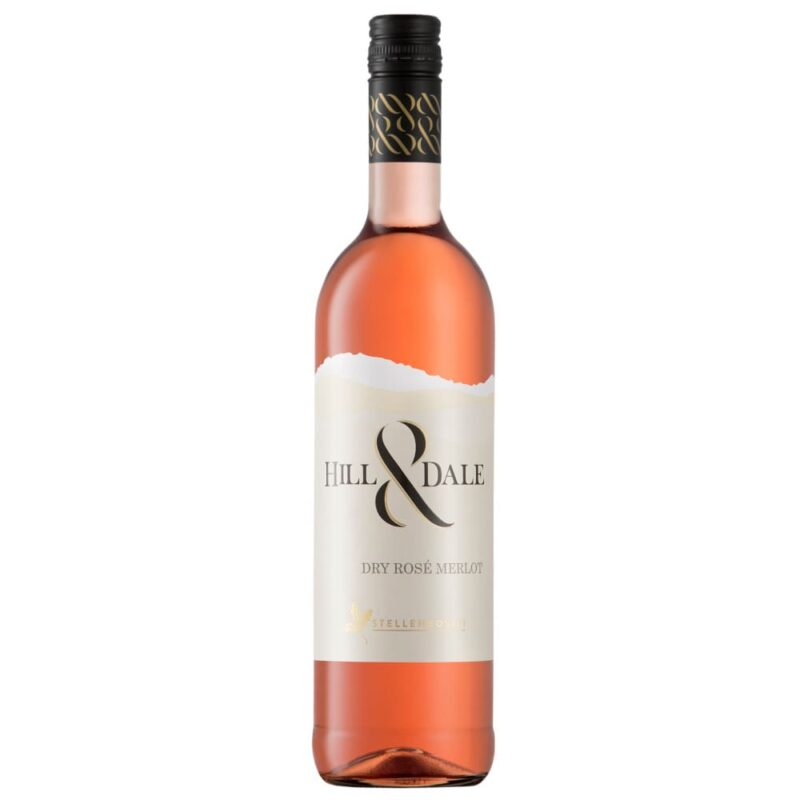 2019 Hill&Dale Dry Rosé Merlot, Stellenbosch, Südafrika