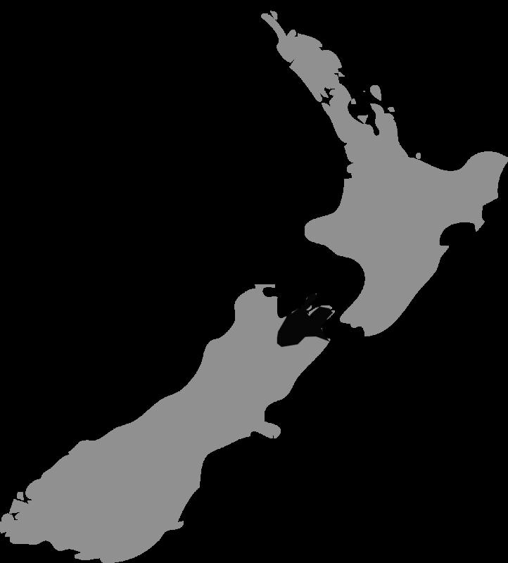 Neuseeland Karte Marlborough