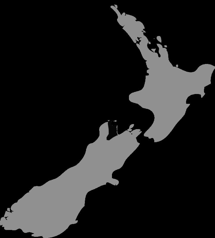 Neuseeland Karte Nelson