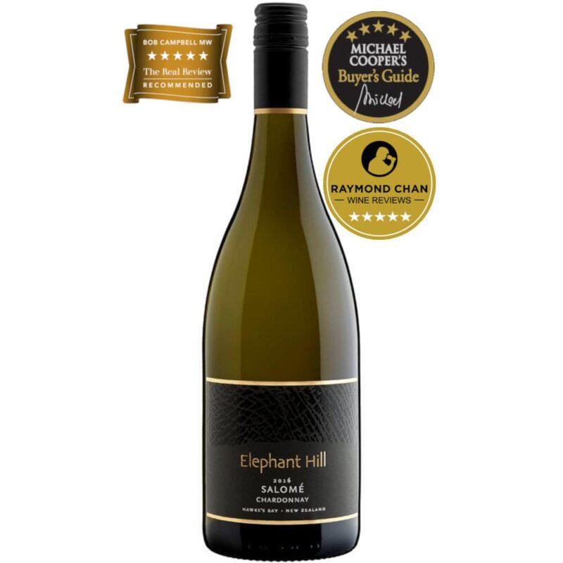 2016 Elephant Hill Salomé Chardonnay Hawkes Bay New Zealand
